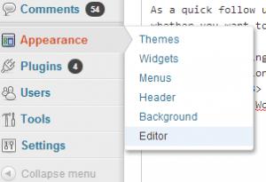 editorAppearance