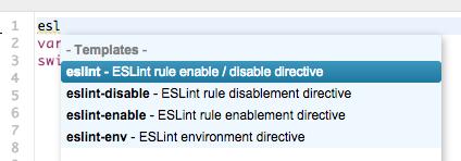 eslint-templates